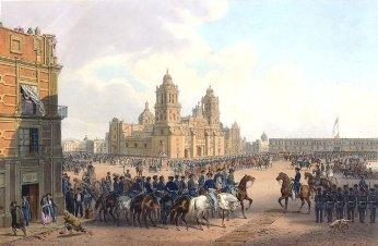 Mexico City During The Mexical American War
