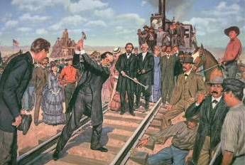 the transcontinental railroad and westward expansion essay The first transcontinental railroad: cultural impact expansion of railroads: to the west the first transcontinental railroad pacific railway act.