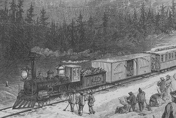 History First Transcontinental Railroad