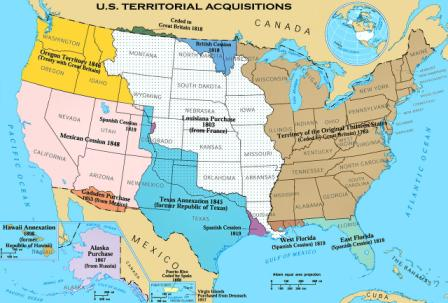 Us Western Expansion Map History: Westward Expansion and the Old West for Kids