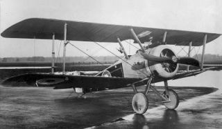 airplanes used in world war i