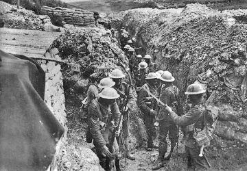 trenches ww1