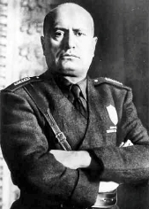 The only official definition of Fascism comes from Benito Mussolini, the  founder of fascism, in which he outlines three principles of a fascist  philosophy.
